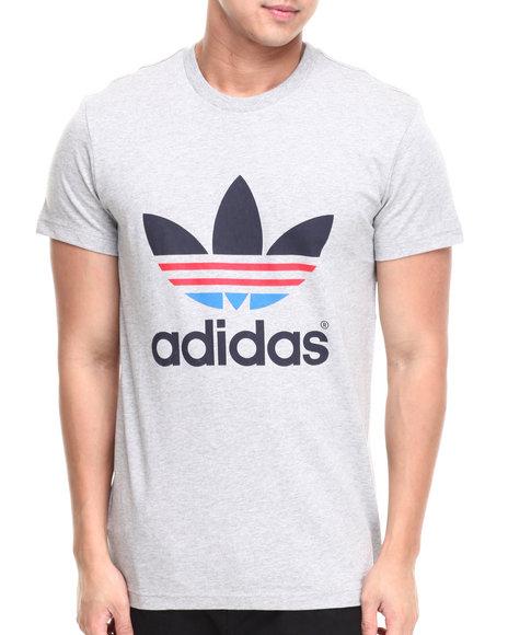 Adidas - Men Grey Trefoil Oddity Tee
