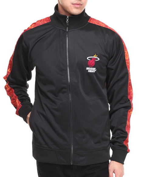 NBA, MLB, NFL Gear - Miami Heat Blueprint Track Jacket