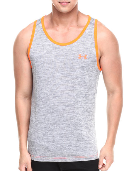Under Armour Grey Tech Tank (Moisture Transport & Anti-Odor Technology)