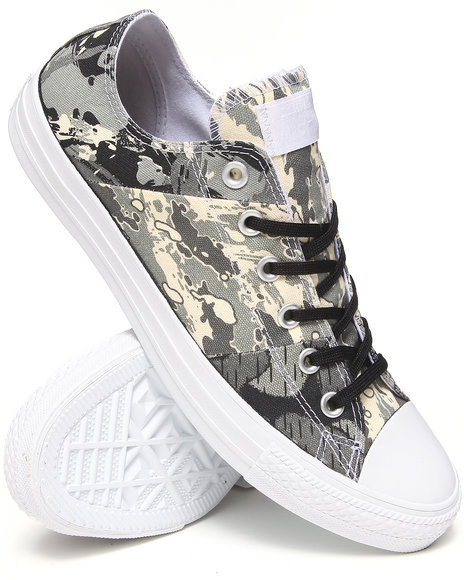 Converse - Tri Panel Camo Chuck Taylor All Star Ox Sneakers