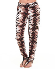 Fashion Lab - Animal Print Challis Pant