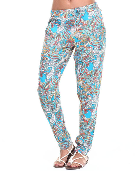 Fashion Lab Blue,Multi Pants