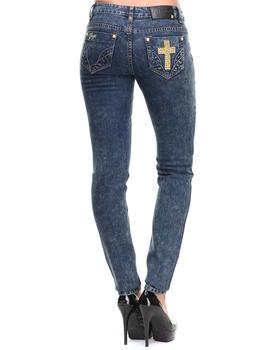 COOGI - Cross Skinny Jeans
