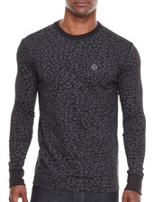 Shirts - Leopard Crew Neck