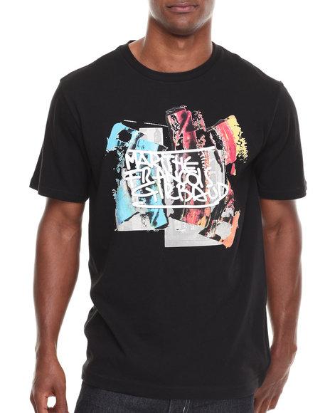 Girbaud Black Stroke De-Peint T-Shirt