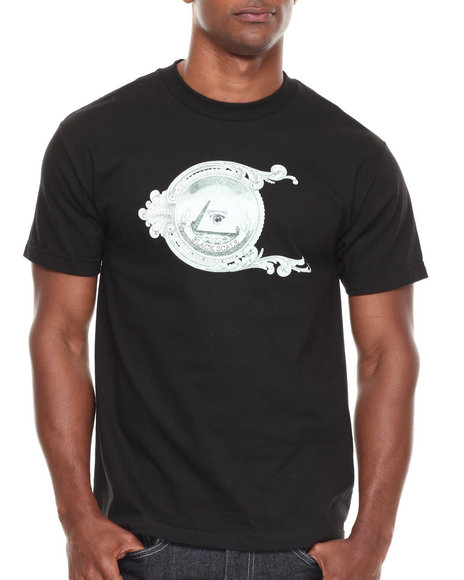 Blvck Scvle - Men Black Annuit Love Tee