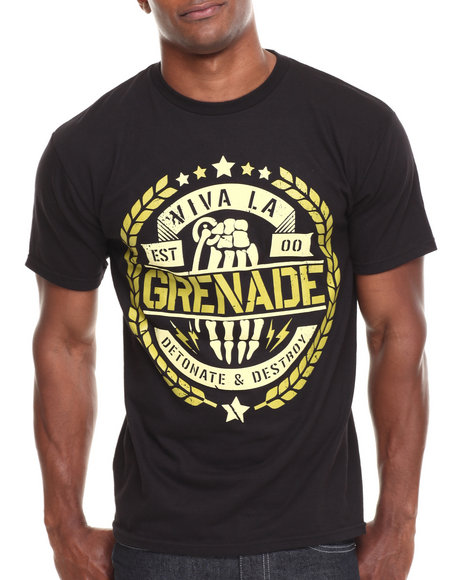 Grenade Black Viva La Grenade Tee
