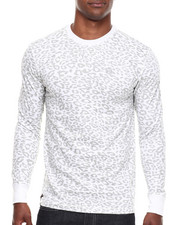 Men - Leopard Crew Neck