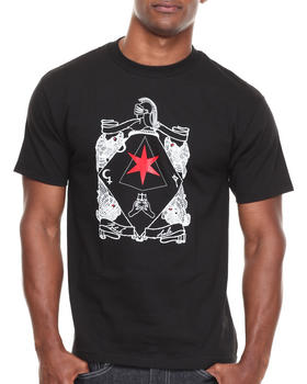 BLVCK SCVLE - Six Pointed Knight Tee