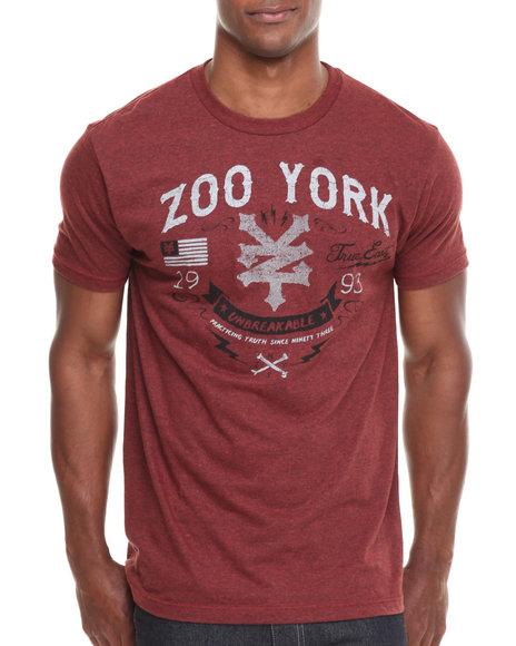 Zoo York Dark Red Redemption Tee