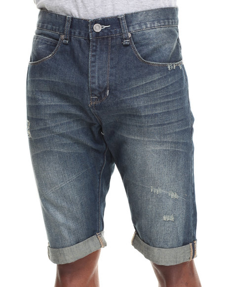 Syn Jeans Medium Wash Slimick Shorts