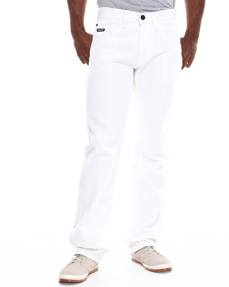 Enyce White New Traditional Colored Slim Pant