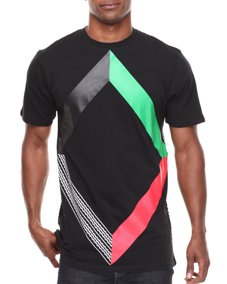 BLVCK SCVLE Black Six Degrees Of Separation Tee