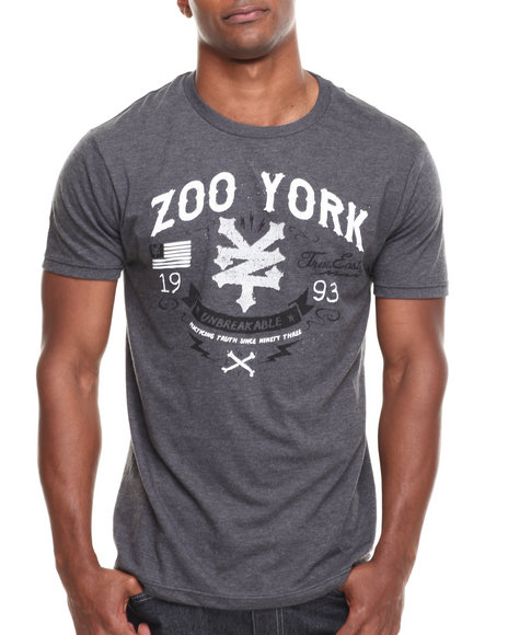 Zoo York - Men Grey Redemption Tee