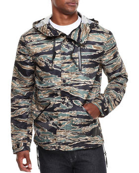 BLVCK SCVLE - Jungle Printed Nylon Waterproof Anorak Jacket