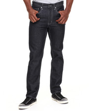 Jeans & Pants - McQueen Skinny Straight Fit Denim Jeans