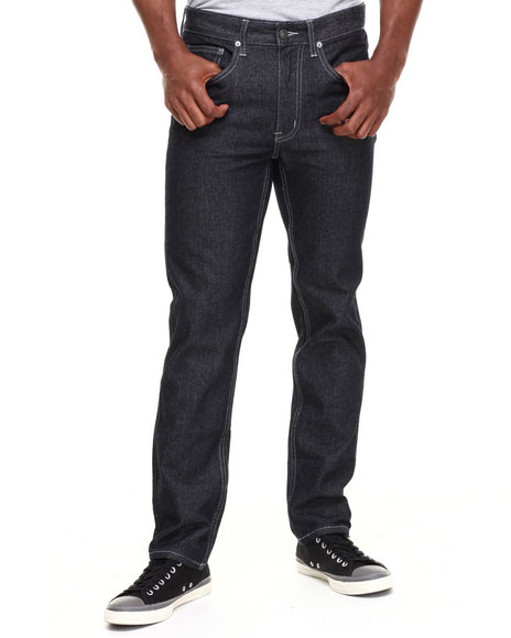 Grenade - Men Black Mcqueen Skinny Straight Fit Denim Jeans