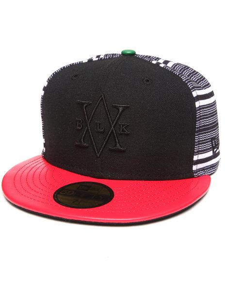BLVCK SCVLE Black Blvck Scvle Six Degrees New Era Fitted Cap