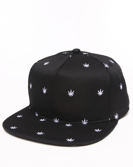 Dope Men Growers Snapback Black