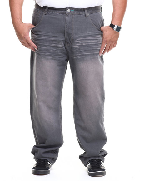 Enyce Grey Premium High Road Denim Jean (Big & Tall)