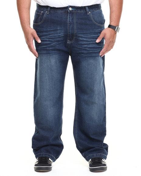 Enyce Light Wash Premium High Road Denim Jean (Big & Tall)