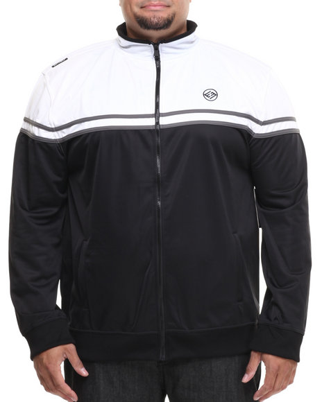 Enyce - Men Black,White Division Tricot Jacket (B&T)