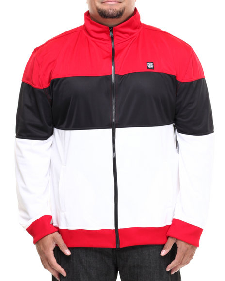 Enyce - Men Black,Red,White Event Tricot Jacket (B&T) - $21.99
