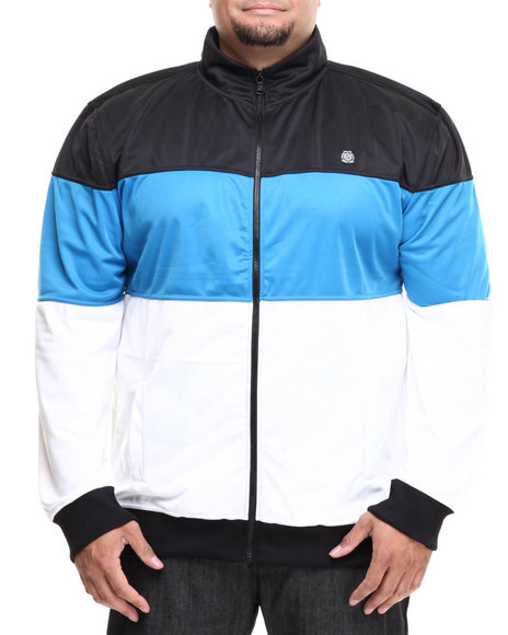Enyce - Men Black,Blue,White Event Tricot Jacket (B&T)