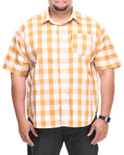Men - In Check S/S Button Down (B&T)