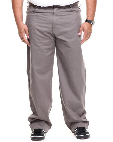 Ecko Grey Bowery Classic 5-Pocket Chino (Big & Tall)