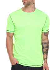 Men - Contrast Stitch S/S Active Tee