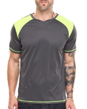 Men - Neon Mesh Trim S/S Active Tee