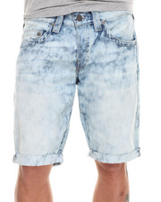 True Religion - Geno Cut-Off Bleached Denim Short