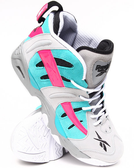 Reebok - Men Teal,Pink,Grey Rail