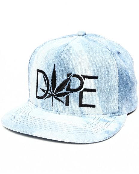 Dope Dope Smoke Snapback Blue