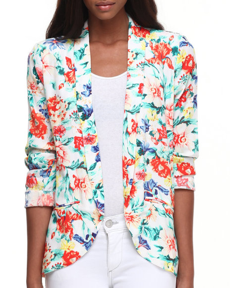 Minkpink - Women Multi Flower Crush Blazer