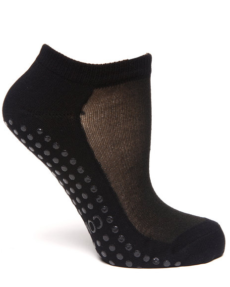 Rampage Women 3 Pack Yoga Socks Black - $6.99