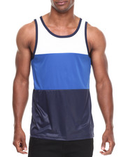 Men - Colorblock Tank