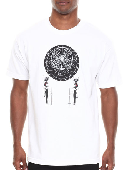 BLVCK SCVLE White Astrolabe Tee