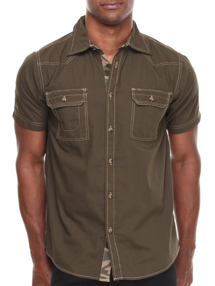 Buyers Picks Olive Button-Downs