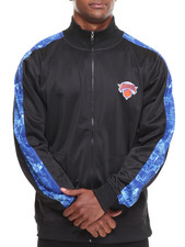NBA, MLB, NFL Gear - New York Knicks Blueprint Track Jacket