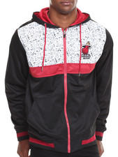 NBA, MLB, NFL Gear - Miami Heat Bugsy Colorblock Hoodie