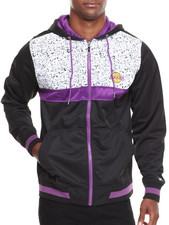 NBA, MLB, NFL Gear - Los Angeles Lakers Bugsy Colorblock Hoodie