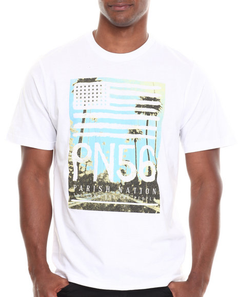 Parish White Pn56 T-Shirt