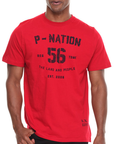 Parish Red Graphic T-Shirt