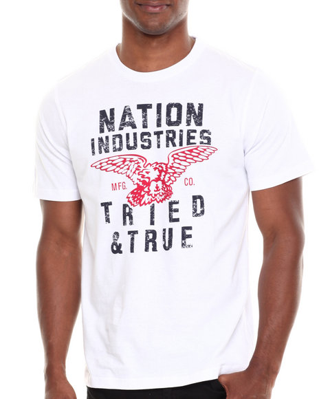 Parish White All Nations T-Shirt