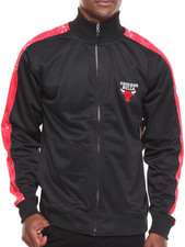 NBA, MLB, NFL Gear - Chicago Bulls Blueprint Track Jacket