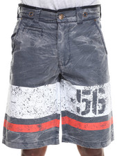 Men - Coated Canvas Short