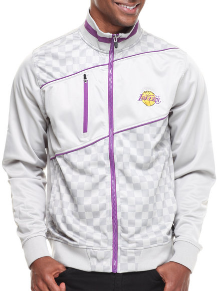 NBA, MLB, NFL Gear - Los Angeles Lakers Drive Track Jacket