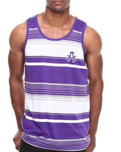 Akademiks Purple Tanks